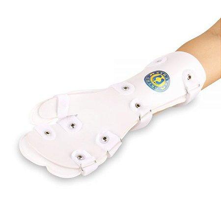 Tala de PVC p/ punhos, mãos e dedos - Brace Pauher - Direita - Uni - Ortho Pauher
