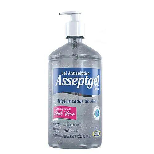 Álcool Asseptgel cristal 420G