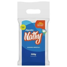 Algodão Hidrófilo 50G - Nathalya