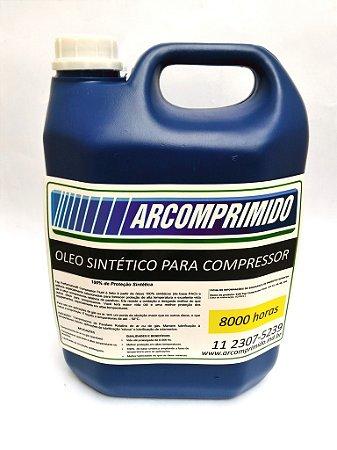 Óleo Semi Sintético para Compressor Rotativo de Parafuso Balde 5 Litros