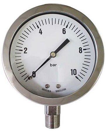 Manômetro Petroquímico