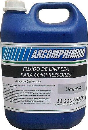 Fluído de Limpeza para Compressor Balde de 5L