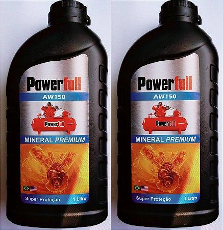 2lts Óleo Mineral para Compressor de Pistão Fiac
