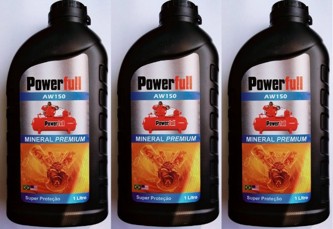 3lts Óleo Mineral para Compressor de Pistão Motomil