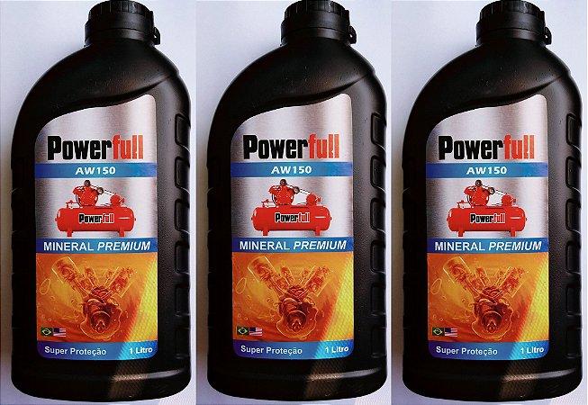 3lts Óleo Mineral para Compressor de Pistão Barionkar
