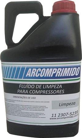 Fluído De Limpeza Para Compressor De Ar Comprimido 5l