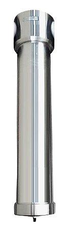 Filtro Coalescente Completo 1/2pol  Vazão 5lts/min 18cm
