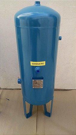 Reservatório Vertical Ar Comprimido 50 Lts Aço Carbono Pressão 12,3kg