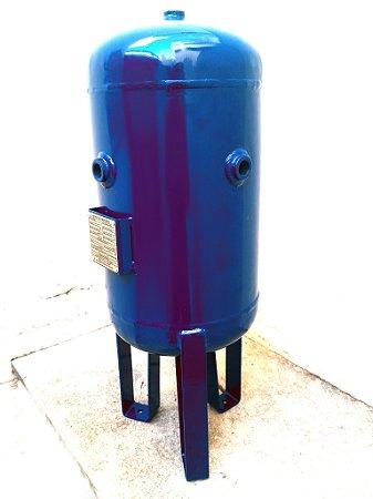 Reservatório Vertical 20lt Aço Carbono 12,3kg Com Acessórios
