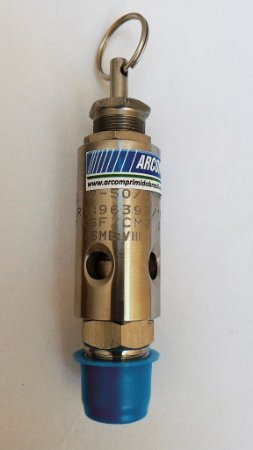 Válvula De Segurança E Alívio 1/4pol Em Aço Inox Para 15kg