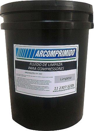 Fluído de Limpeza Similar ao Atlas Copco GA-0K Balde de 20L