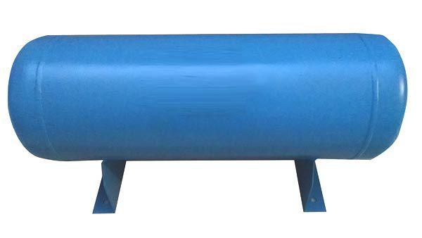 Reservatório Horizontal para Ar Comprimido 90L em Aço Carbono Pressão de Trabalho 20kg