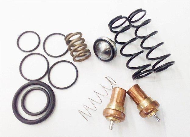 Kit Reparo Válvula de Pressão Mínima e Termostática 3060109 para Compressores Metalplan de 10HP