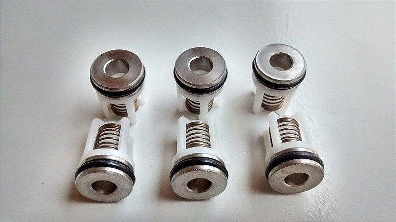 Válvula de Pressão Mínima para Compressor