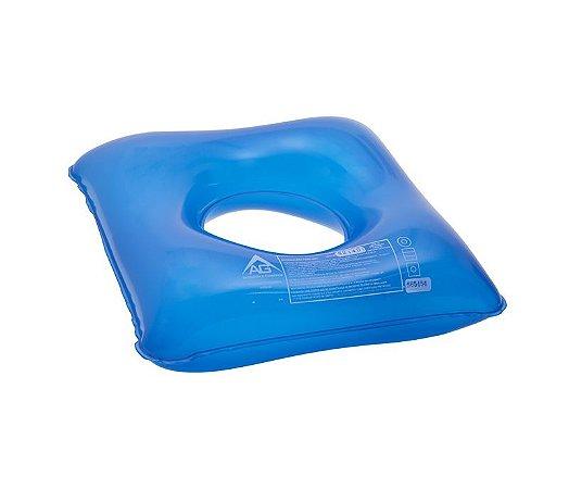 Assento Ortopédico Água Quadrado Com Orificio FlexiConfort AG - 1001