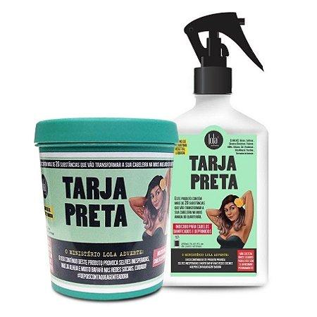 Lola Tarja Preta Kit Máscara + Spray Banho de Queratina