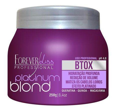 Forever Liss Btx Platinum Blond Intensive - 250gr