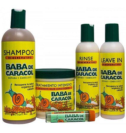 Baba de Caracol Kit de Esfoliação e Regeneração Capilar