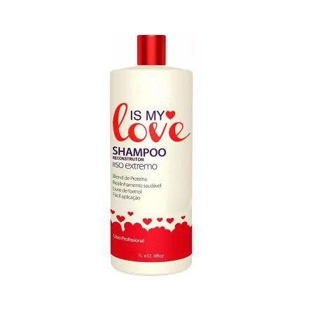 Is My Love Shampoo Alisante Reconstrutor Liso Extremo – 1 Lt