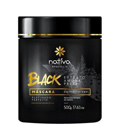 Nativa Mascara Black Matizadora Platinado 500g