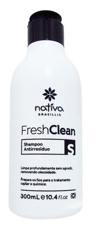 Nativa Fresh Clean Shampoo Antirresíduo Anti Residuo 300ml