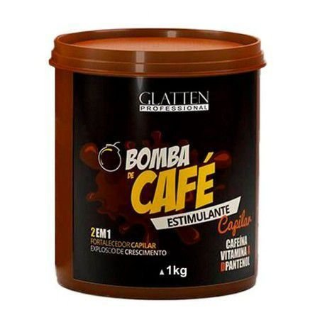 Máscara Bomba de Café Glatten 1kg