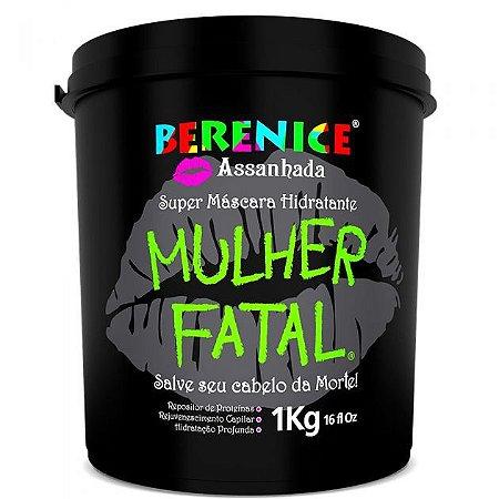 Máscara Capilar Hidratante Mulher Fatal Berenice Assanhada 1kg