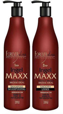 Forever Liss Maxx Escova Progressiva Ingel Kit 2x1000ml