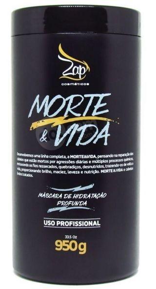 Zap Morte Vida 950g Máscara Hidratação e Reparação Profunda