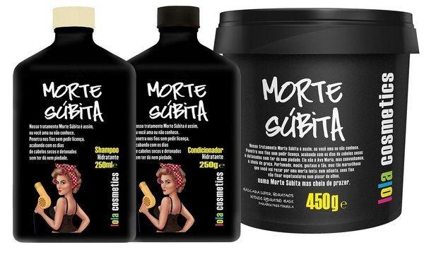 Lola Morte Subita Kit Manutenção Shampoo + Condic. + Mascara 450g