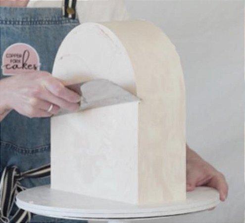 Guia para quinar bolo - Arco - Kit com 2 unidades