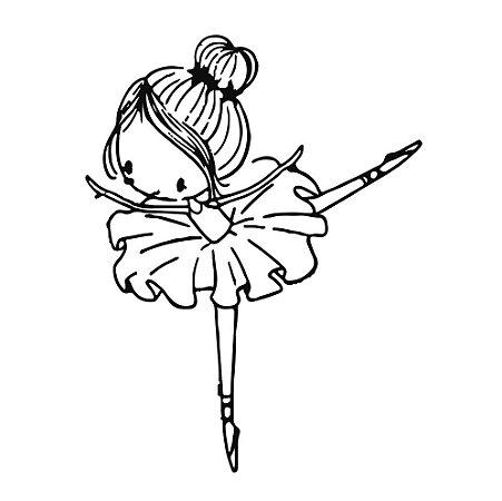 Marcador de biscoito - Bailarina