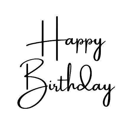 Marcador de biscoito - Happy Birthday 01