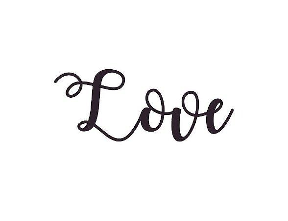 Marcador de biscoito - Love
