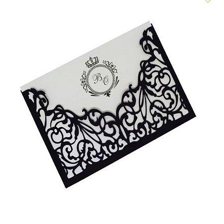 Kit - 50 unidades envelopes para convites - Dany