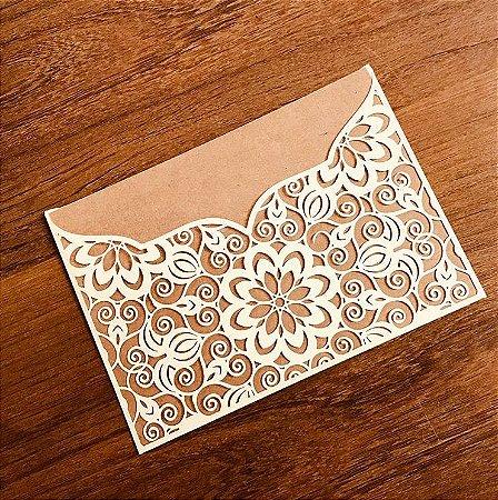 Kit - 50 Envelopes para convites - Suzy