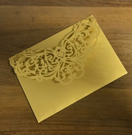 Kit - 50 unidades envelopes para convites - Iri