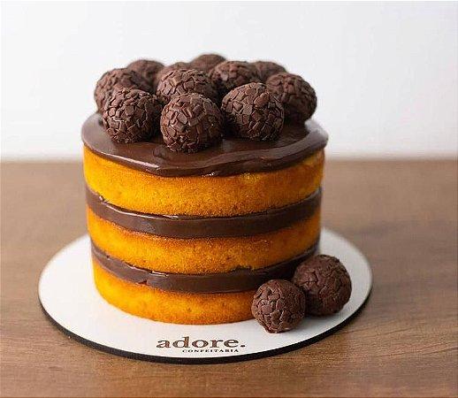 Cake Board MDF - Redondo - Personalizado (Vários tamanhos) Kit 5 unidades