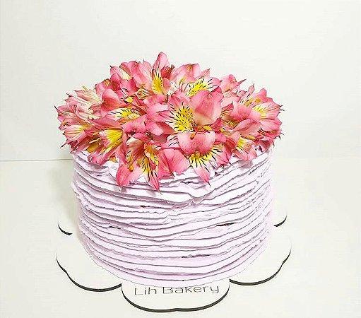 Cake Board MDF - Daisy - Personalizado (Vários tamanhos) Kit 5 unidades