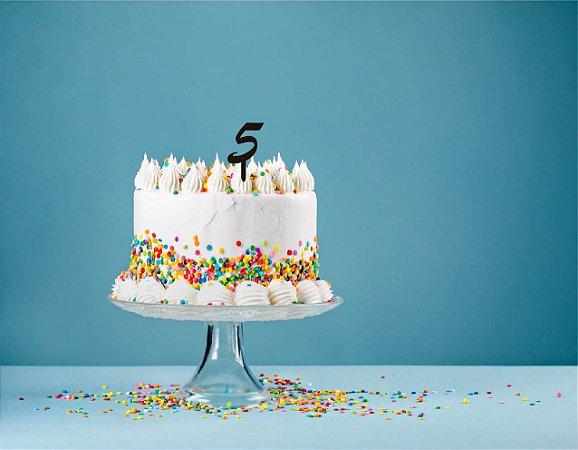 Topo de bolo - Numeros - Acrílico - Várias cores