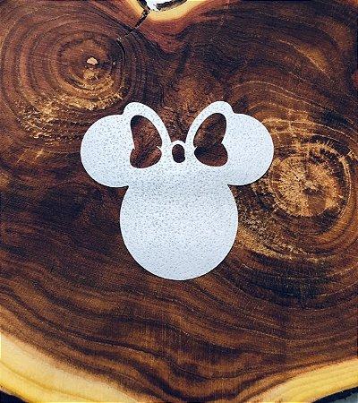 Aplique de papel arroz -Minnie Mouse