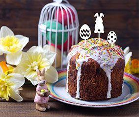 Topo de bolo -Ovinhos- Acrílico - Várias cores