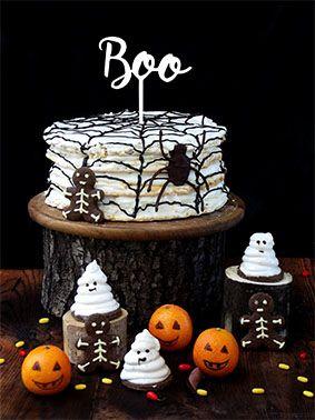 Topo de bolo -Boo-Acrílico - Várias cores