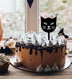 Topo de bolo -Gato Acrílico - Várias cores