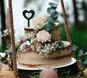 Topo de bolo -Coração 1-Acrílico - Várias cores