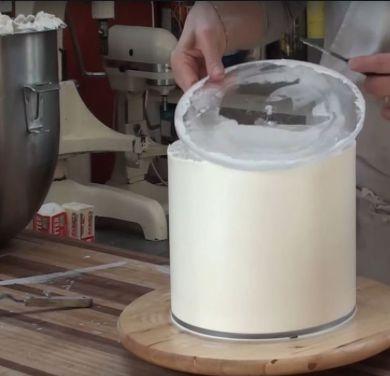 Guia para quinar bolo - redonda - Kit com 2 unidades