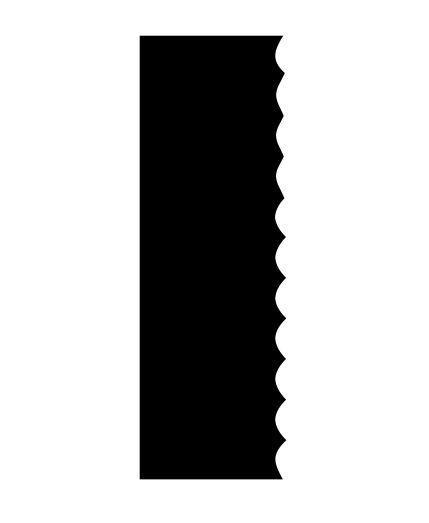 Espátula decorativa para bolo 12- Acrílico