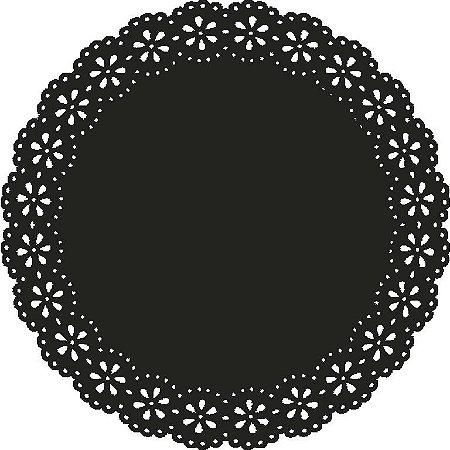 Sousplat - Blossom Preto