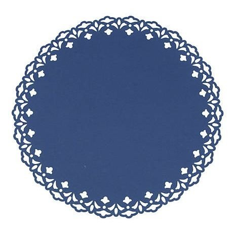 Sousplat - Liss Azul marinho