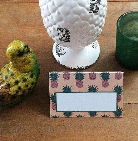 Marcador de lugar - Pineapple